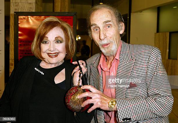Actor Sid Caesar and actress Edie Adams at the Arclight Cinema for the 40th Anniversary screening of the movie 'It's a Mad Mad Mad Mad World' on...
