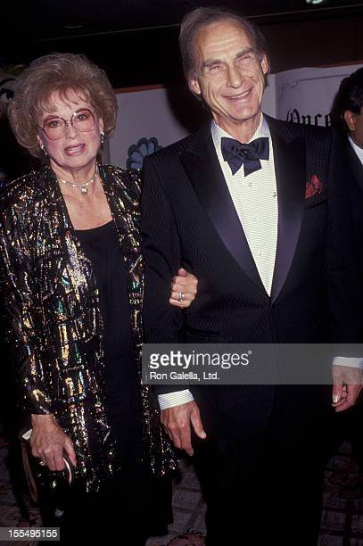 Actor Sid Caesar and Florence Caesar attend St Jude Children's Hospital Benefit Gala on July 25 1992 at the Century Plaza Hotel in Century City...