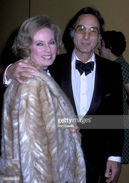 Actor Sid Caesar and wife Florence Caesar attend Academy of Television Arts and Sciences Gala Honoring Sid Caesar on March 31 1979 at the Century...