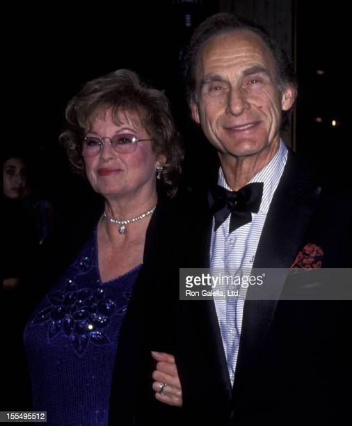 Actor Sid Caesar and wife Florence Caesar attend Benefit Gala for St Jude Children's Hospital on June 4 1993 at the Century Plaza Hotel in Century...