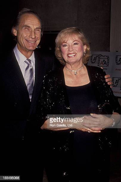 Actor Sid Caesar and wife Florence Caesar attend Eighth Annual American Cinema Awards on September 14 1991 at the Beverly Hilton Hotel in Beverly...
