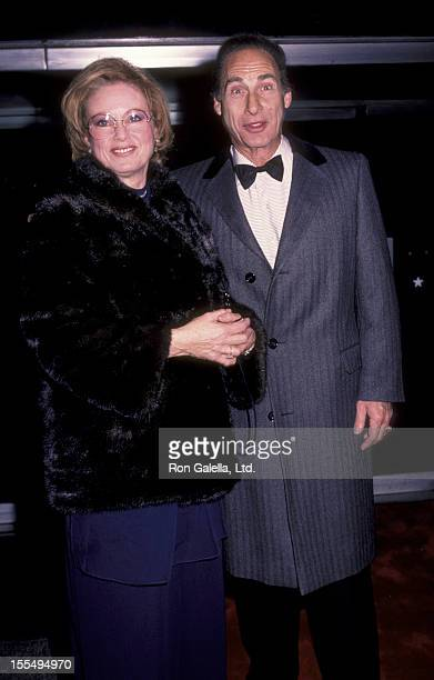 Actor Sid Caesar and wife Florence Caesar attend Sixth Annual Kennedy Center Honors Gala Trustees Dinner on December 3 1983 at the State Deparment in...