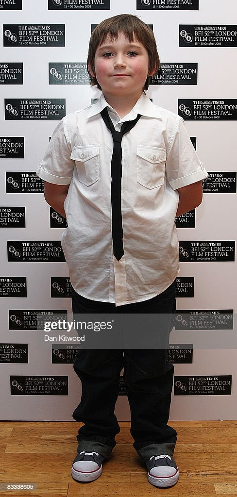 Actor Sidney Johnston arrives at the BFI 52nd London Film Festival European Premiere of Incendiary in Leicester Square on October 18, 2008 in London, England.