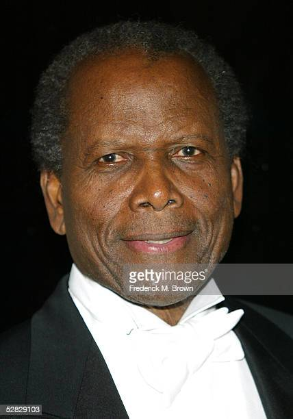 Actor Sidney Poitier attends Oprah Winfrey's Legends Ball at the Bacara Resort and Spa on May 14 2005 in Santa Barbara California