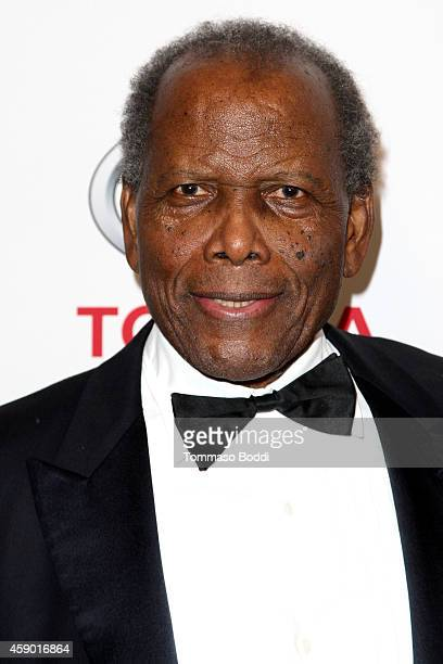 Actor Sidney Poitier attends the YWCA Greater Los Angeles Rhapsody Ball held at the Regent Beverly Wilshire Hotel on November 14 2014 in Beverly...