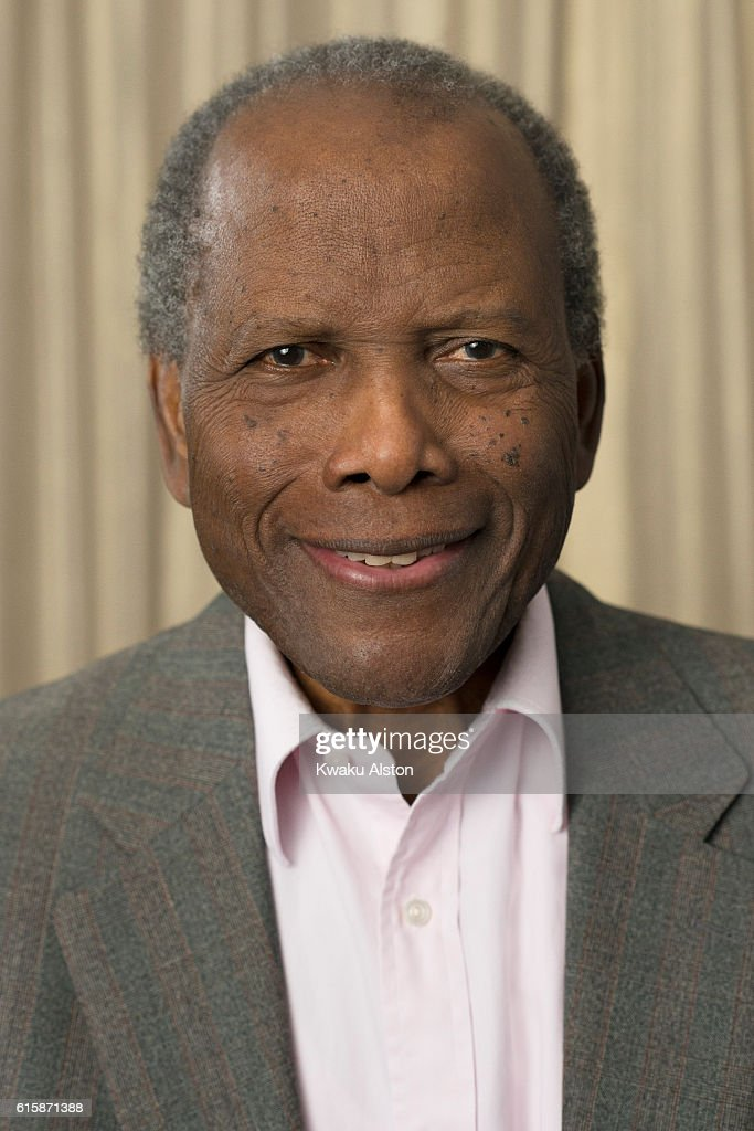 Actor Sidney Poitier is photographed at the Black Men in Hollywood Dinner for Essence Magazine on February 2, 2006 in Hollywood, California.