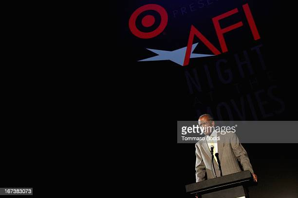 Actor Sidney Poitier presenting In the Heat of the Night at Target Presents AFI's Night at the Movies at ArcLight Cinemas on April 24 2013 in...