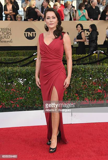 Actor Sidse Babett Knudsen attends the 23rd Annual Screen Actors Guild Awards at The Shrine Expo Hall on January 29 2017 in Los Angeles California