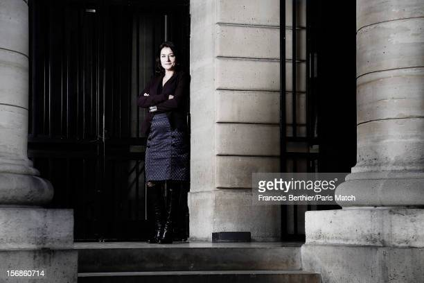 Actor Sidse Babett Knudsen is photographed for Paris Match on October 25 2012 in Paris France