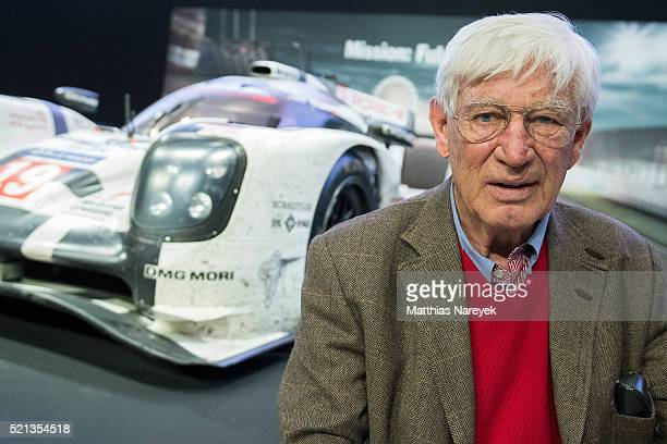 Actor Siegfried Rauch attends the 'Unser Le Mans' book presentation on April 15 2016 in Berlin Germany