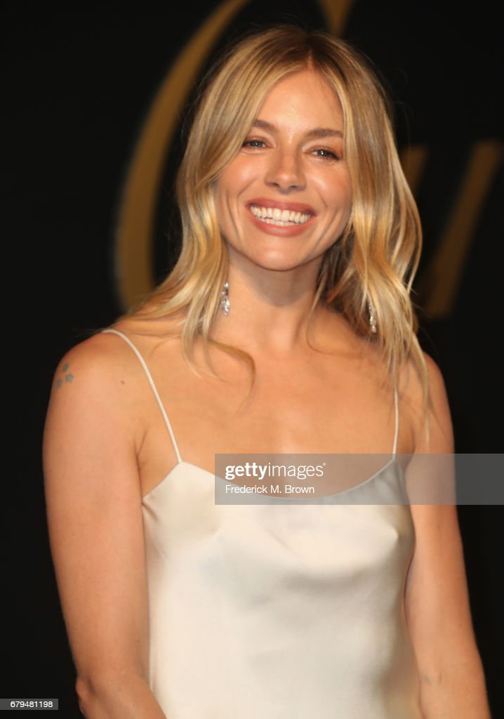 Actor Sienna Miller attends Panthere De Cartier Party In LA at Milk Studios on May 5, 2017 in Los Angeles, California.