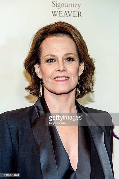 Actor Sigourney Weaver attends the 'A Monster Calls' New York premiere at AMC Loews Lincoln Square 13 theater on December 7 2016 in New York City