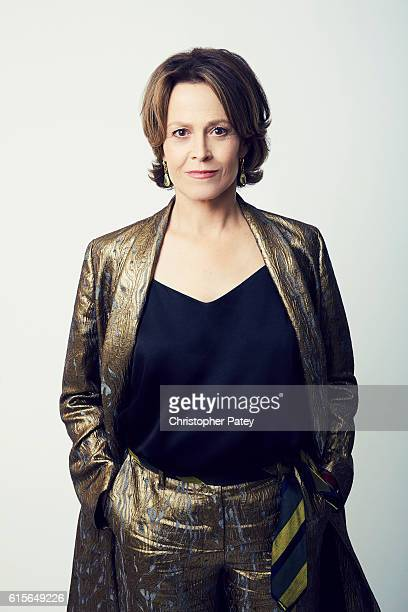 Actor Sigourney Weaver poses for a portrait at the 2016 American Cinematheque Awards on October 14 2016 in Beverly Hills California