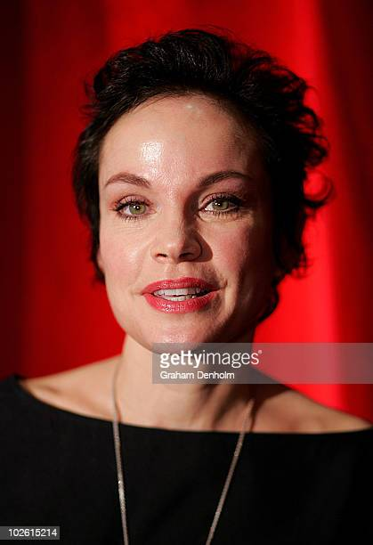 Actor Sigrid Thornton arrives for the opening night of West Side Story at Star City on July 4 2010 in Sydney Australia