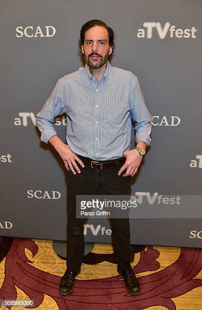 Actor Silas Weir Mitchell attends the 'Grimm' event during aTVfest 2016 presented by SCAD on February 7 2016 in Atlanta Georgia