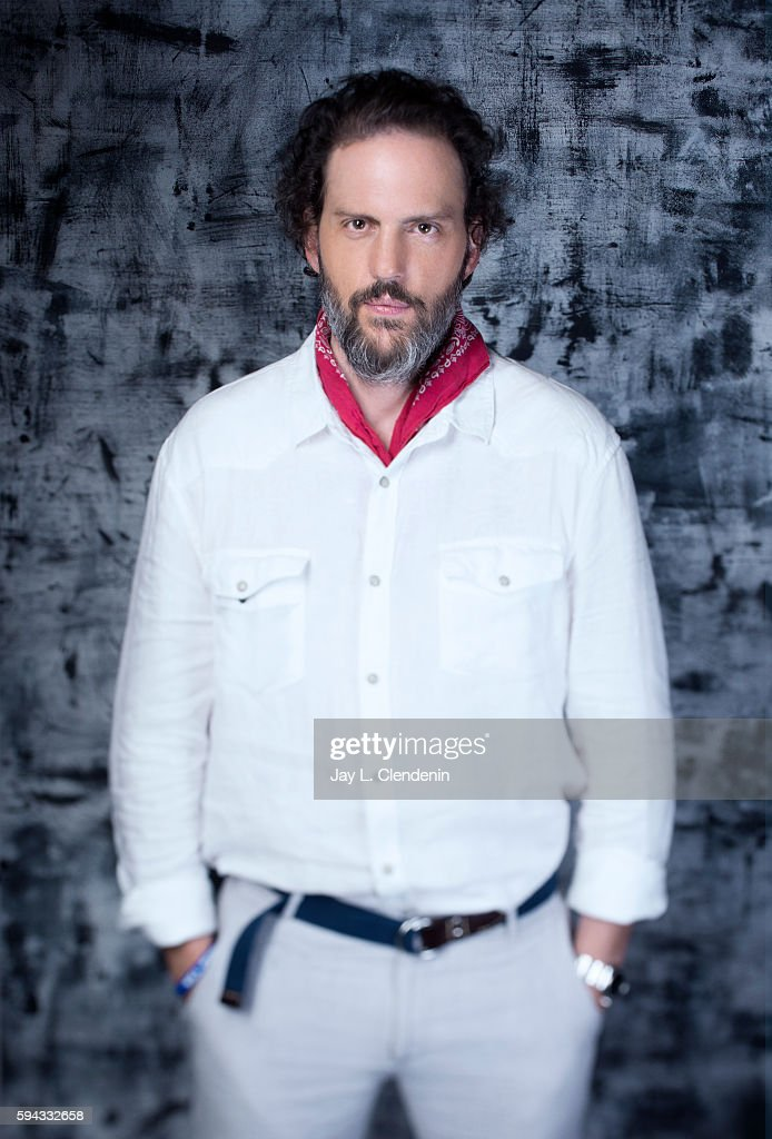 Actor Silas Weir Mitchell of 'Grimm' is photographed for Los Angeles Times at San Diego Comic Con on July 22, 2016 in San Diego, California.