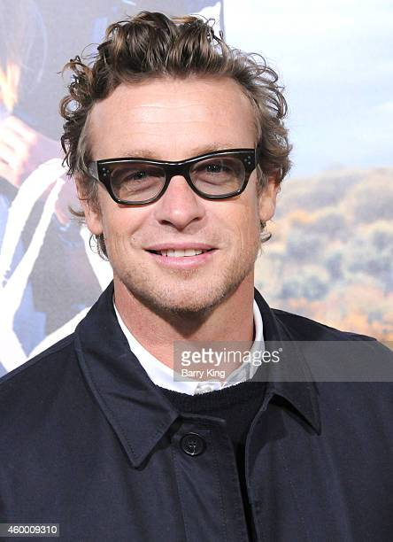 Actor Simon Baker arrives at the Los Angeles Premiere 'Wild' at AMPAS Goldwyn Theater on November 19 2014 in Beverly Hills California
