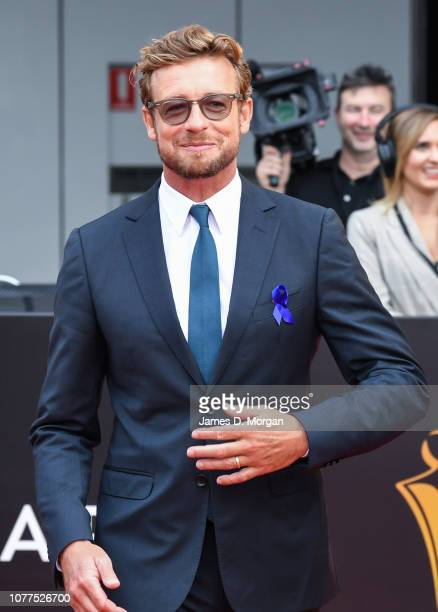 Actor Simon Baker attends the 2018 AACTA Awards Presented by Foxtel at The Star on December 05, 2018 in Sydney, Australia.