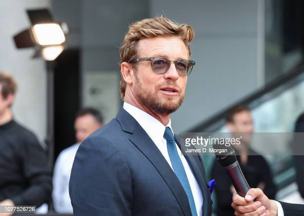Actor Simon Baker attends the 2018 AACTA Awards Presented by Foxtel at The Star on December 05 2018 in Sydney Australia