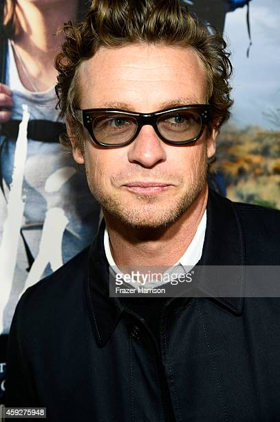 Actor Simon Baker attends the premiere of Fox Searchlight's 'Wild' at AMPAS Samuel Goldwyn Theater on November 19 2014 in Beverly Hills California