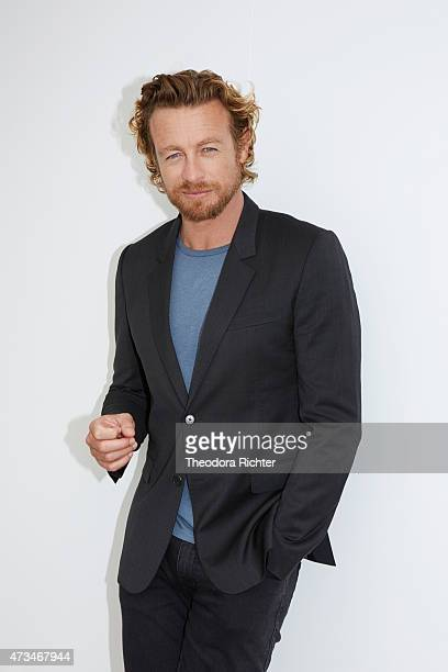Actor Simon Baker is photographed on May 13 2015 in Cannes France