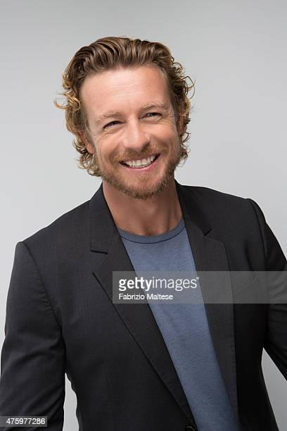 Actor Simon Baker is photographed on May 14, 2015 in Cannes, France.