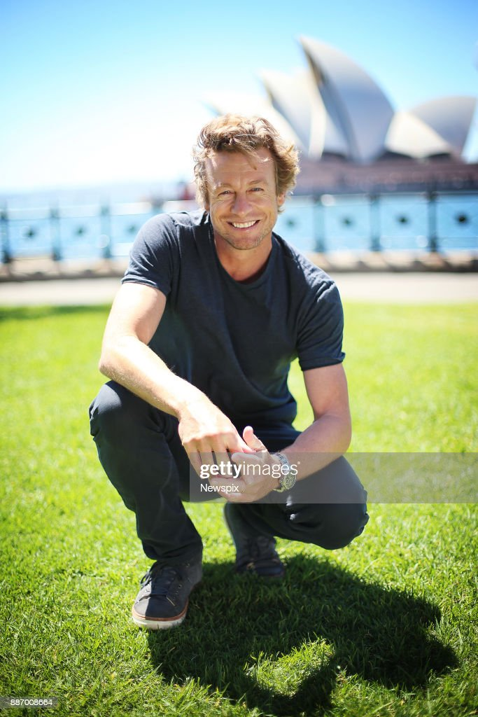 Simon Baker Sydney Portrait Shoot