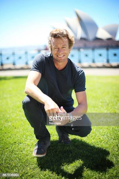 SYDNEY NSW Actor Simon Baker poses during a photo shoot in Sydney New South Wales