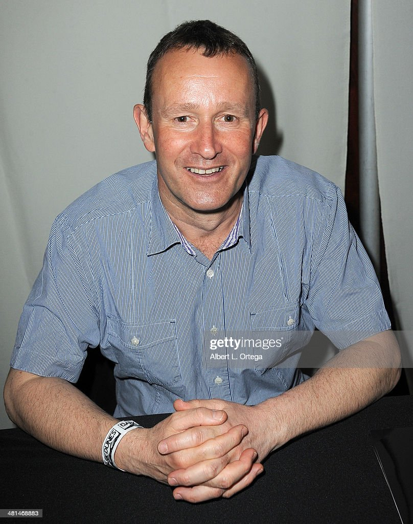 Actor Simon Bamford attends the 2014 Monsterpalooza: The Art Of Monsters Convention held at Marriott Airport Hotel on March 29, 2014 in Burbank, California.