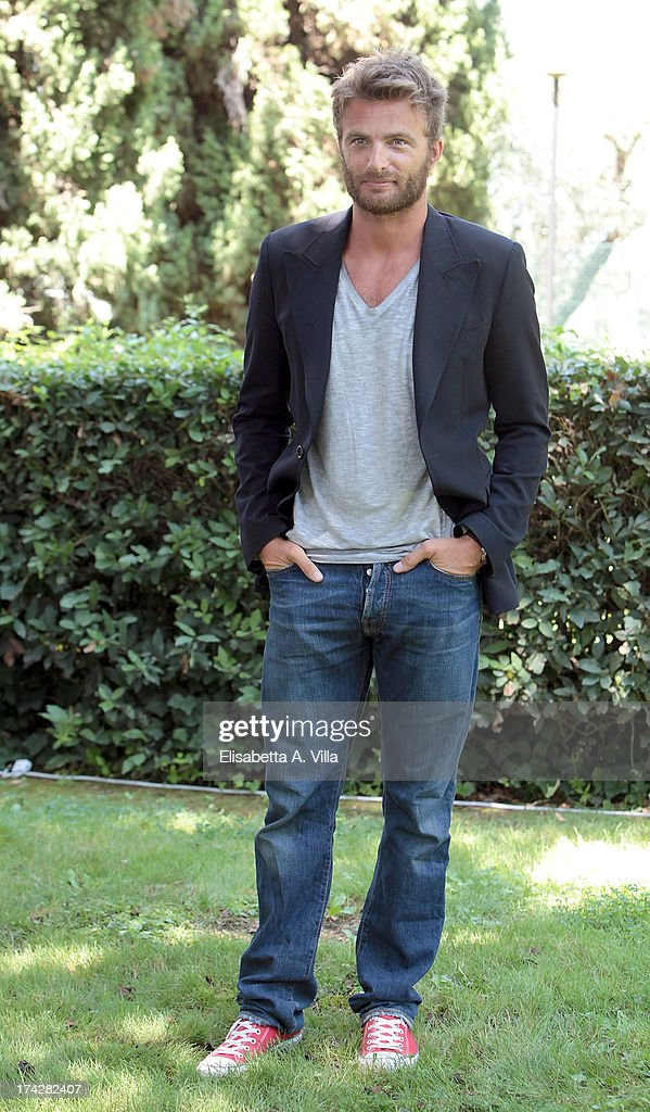 Actor Simon Grechi attends 'La Tre Rose Di Eva 2' photocall at Mediaset Studios on July 23, 2013 in Rome, Italy.