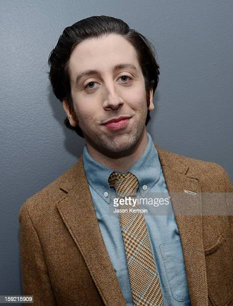 Actor Simon Helberg attends the 39th Annual People's Choice Awards at Nokia Theatre LA Live on January 9 2013 in Los Angeles California