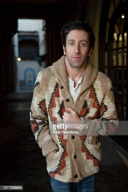 Actor Simon Helberg is photographed for Los Angeles Times on December 7 2018 in Pasadena California PUBLISHED IMAGE CREDIT MUST READ Katie...