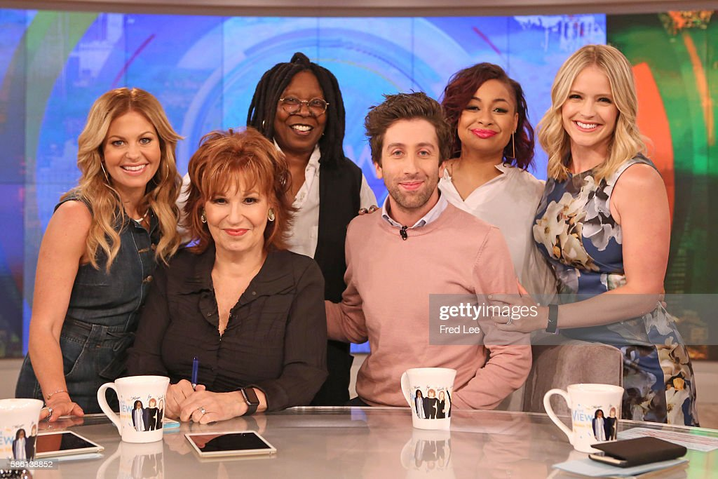 THE VIEW - Actor Simon Helberg visits 'THE VIEW,' Monday, August 8, 2016 (11:00 a.m. - 12:00 noon, ET) on the ABC Television Network. HAINES