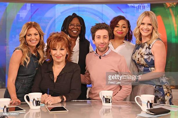 THE VIEW Actor Simon Helberg visits THE VIEW Monday August 8 2016 on the Walt Disney Television via Getty Images Television Network HAINES