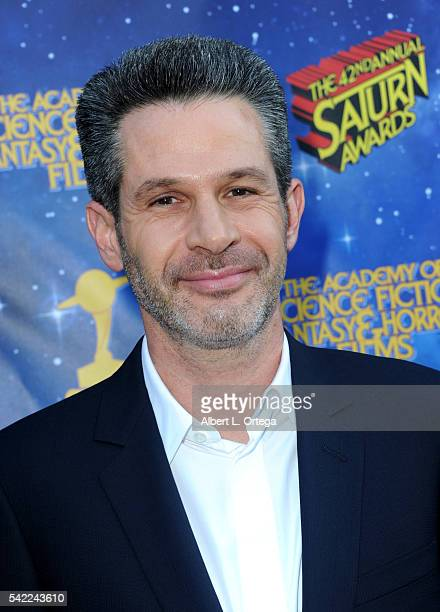 Actor Simon Kinberg attends the 42nd annual Saturn Awards at The Castaway on June 22 2016 in Burbank California