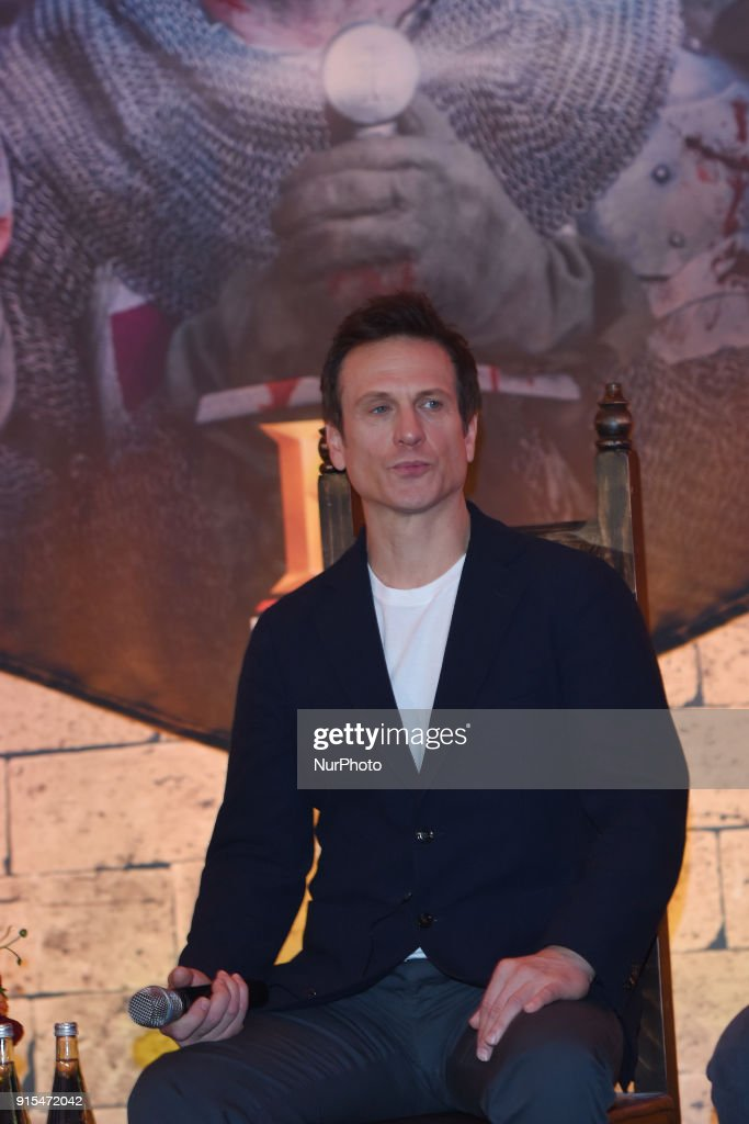 'Knightfall: the war for the Holy Grail' press conference in Mexico City