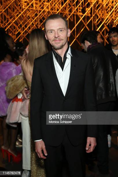 """Actor Simon Pegg attends the Tribeca Film Festival after-party for """"Lost Transmissions"""", hosted by Bulleit Bourbon at the Bulleit 3D Printed Frontier..."""
