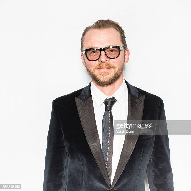 Actor Simon Pegg is photographed for Empire magazine on March 29 2015 in London England