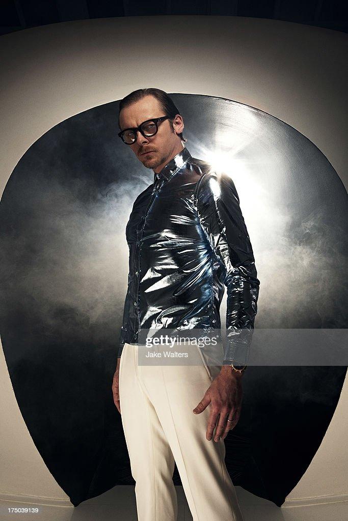 Simon Pegg, ES magazine UK, May 3, 2013