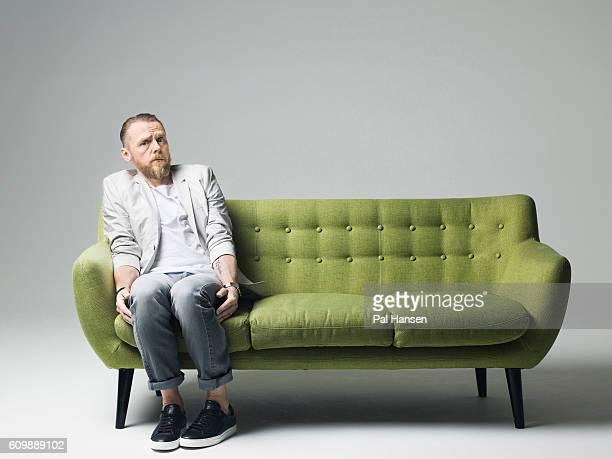 Simon Pegg Foto E Immagini Stock Getty Images