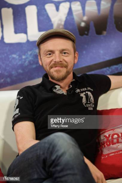 Actor Simon Pegg visits YoungHollywood.com at the Young Hollywood Studio on June 17, 2011 in Los Angeles, California.