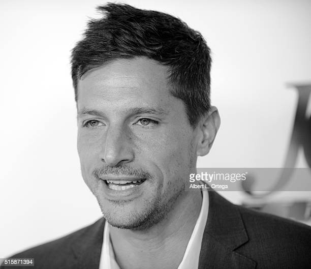 Actor Simon Rex arrives for the Premiere Of JR Productions' Halloweed held at TCL Chinese 6 Theatres on March 15 2016 in Hollywood California