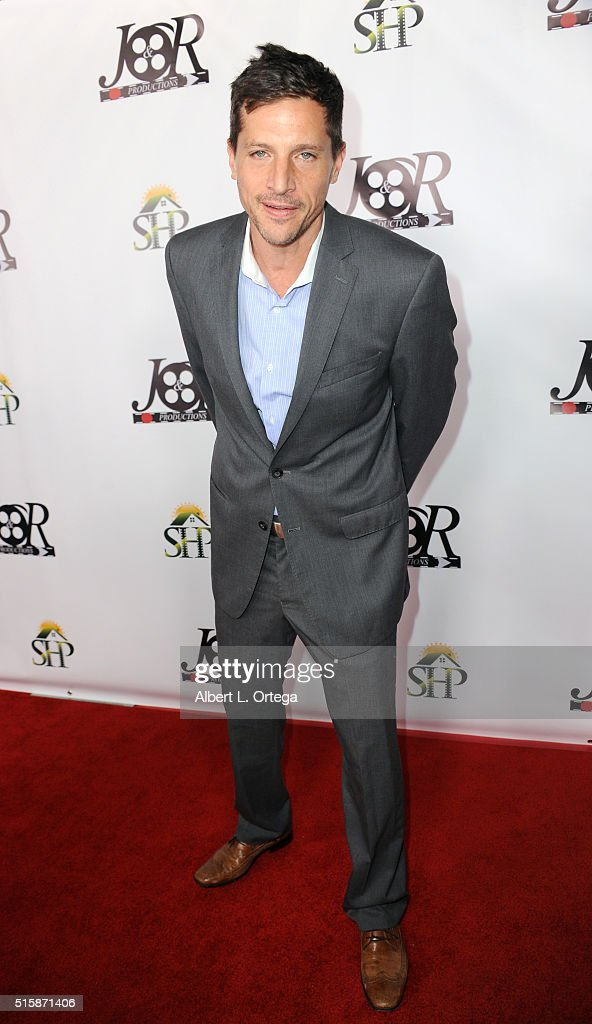 Actor Simon Rex arrives for the Premiere Of J&R Productions' 'Halloweed' held at TCL Chinese 6 Theatres on March 15, 2016 in Hollywood, California.