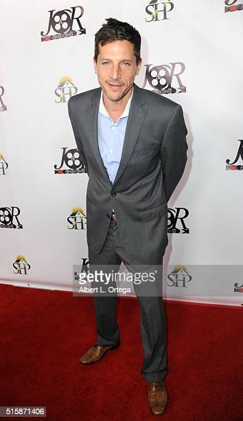 Actor Simon Rex arrives for the Premiere Of JR Productions' 'Halloweed' held at TCL Chinese 6 Theatres on March 15 2016 in Hollywood California