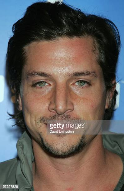 Actor Simon Rex attends a party to celebrate the launch of Helio a new mobile communications service at a private residence on May 3 2006 in Los...