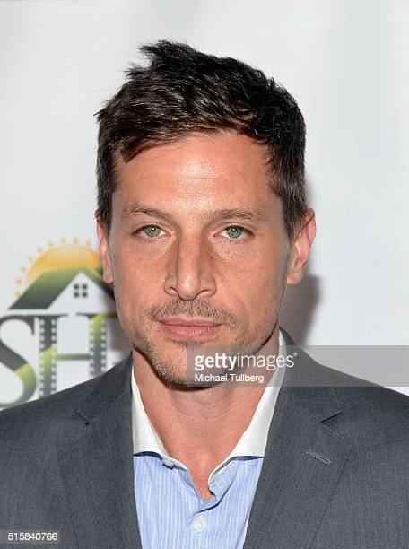 Actor Simon Rex attends the premiere of JR Productions' Halloweed at TCL Chinese 6 Theatres on March 15 2016 in Hollywood California