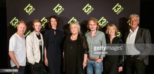 Actor Simon Schwarz actor Timur Bartels Katharina Behrends Managing Director Central and Eastern Europe of NBC Universal International Networks...