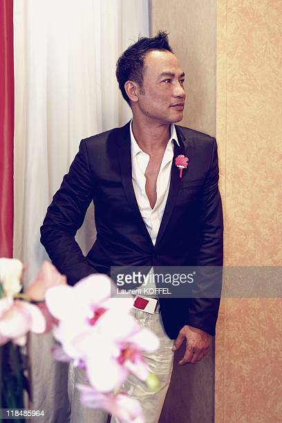 Actor Simon Yam poses during a portrait session held on May 18 2009 in Cannes France