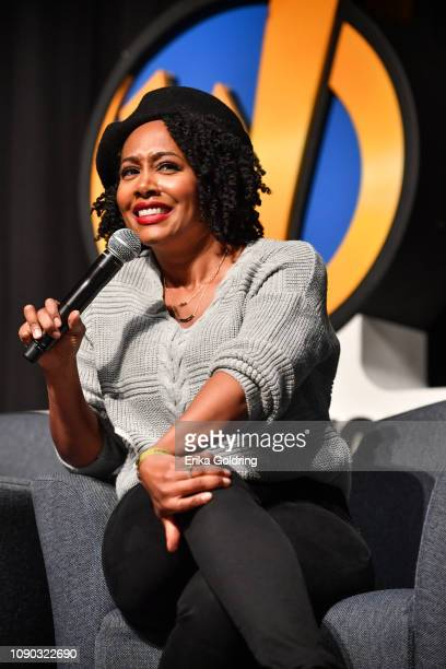 Actor Simone Missick of 'Luke Cage' attends Wizard World Comic Con at Ernest N Morial Convention Center on January 04 2019 in New Orleans Louisiana