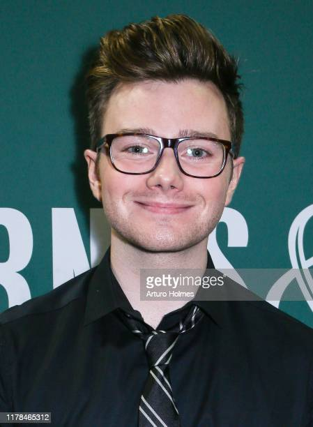 Actor/ singer/ author Chris Colfer attends a signing event for his new book A Tale Of Magic at Barnes Noble Union Square on October 01 2019 in New...